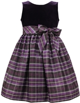 Jayne Copeland Velvet Lurex Taffeta Skirt Dress