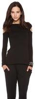 Rachel Pally Shoulder Cutout Sweater