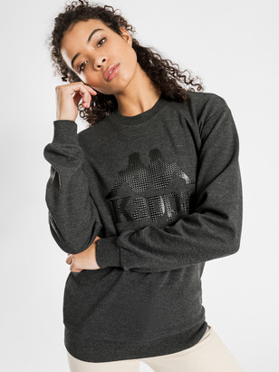 Kappa Authentic 222 Banda Sweater in Grey Marle