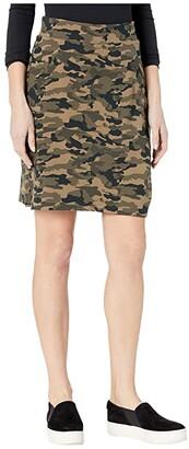 Jag Jeans Ashley Pull-On Ponte Camo Skort (Camouflage) Women's Skort