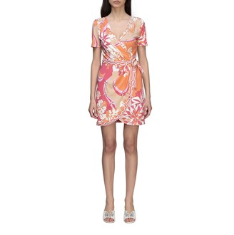 Emilio Pucci Dress Jersey Dress With Vahiné Print