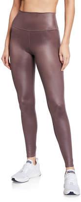 Alo Yoga High-Waist Shine Airbrush Active Leggings