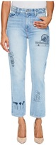 Paige High-Rise Sarah Straight in Briezy Women's Jeans