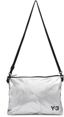 Y-3 Silver Sacoche Bag