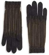 Brunello Cucinelli Chain Trim Cashmere Gloves