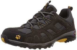 Jack Wolfskin Vojo Hike Texapore Men, Mens Trekking and Hiking Boots, Black (Burly Yellow 3800)