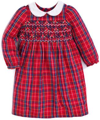 Jo-Jo Jojo Maman Bebe Smocked Tartan Party Dress