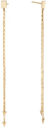Lana Malibu Chain Linear Earrings