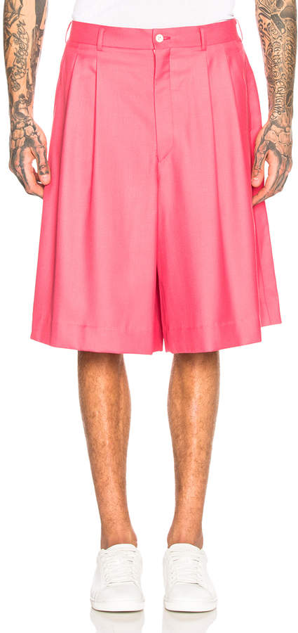 Comme des Garcons Shorts in Pink | FWRD