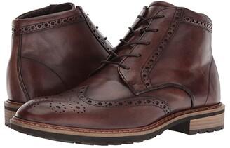 Ecco Vitrus I Wingtip Boot (Nature) Men's Dress Lace-up Boots