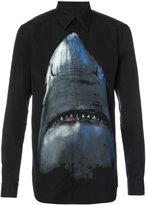 Givenchy shark print shirt - men - Cotton - 39