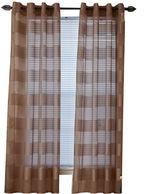 Asstd National Brand Sofia Grommet-Top Curtain Panel