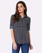 Forever New Stripe Shirt