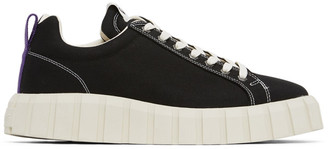 Eytys Black Canvas Odessa Sneakers
