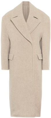 Acne Studios Wool-blend double-breasted coat