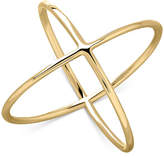 Macy's Intersecting X-Ring in 14k Gold