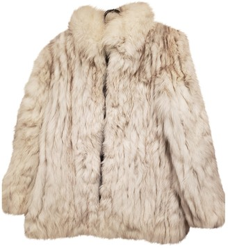 Non Signé / Unsigned Non Signe / Unsigned White Fox Jacket for Women