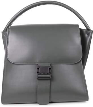 Zucca Green Buckled Bag L
