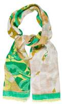 Emilio Pucci Patterned Long Scarf