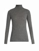 Velvet by Graham & Spencer Talisia high-neck long-sleeved T-shirt