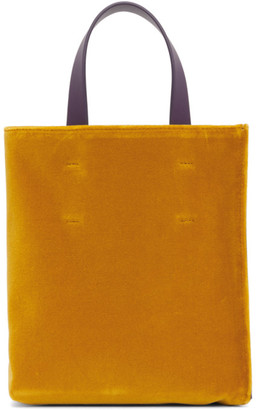 Marni Pink and Yellow Mini Museo Soft Tote
