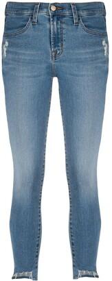 J Brand Maria mid-rise skinny jeans