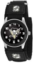 Game Time Rookie Series Pittsburgh Penguins Silver Tone Watch - NHL-ROB-PIT - Kids