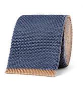 Boglioli 6cm Reversible Knitted Silk Tie