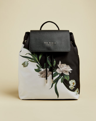 Ted Baker ROLANDA Elderflower drawstring backpack