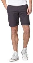 Red Herring Big And Tall Dark Grey Cargo Shorts