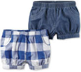 Carter's 2-Pack Shorts, Baby Girls