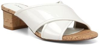 Donald J Pliner Mally Low Crisscross Slide Sandal