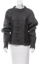 Etoile Isabel Marant Wool-Blend Crew Neck Sweater