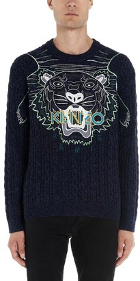 Kenzo Tiger Logo Knitted Pullover