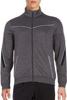 Calvin Klein Zip-Front Mockneck Jacket