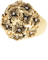 Ariella Collection Flower Cocktail Ring