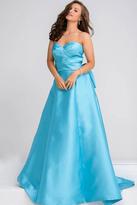 Jovani Sweetheart Neck Layered Bust Evening Dress JVN94279