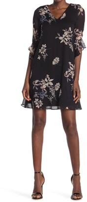 Calvin Klein Floral V-Neck Dress