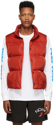 Noah NYC Red Cashball Puffer Vest