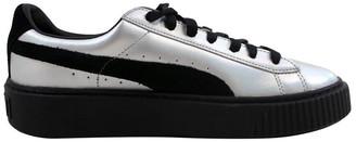Puma Basket Platform Explosive Leather Sneaker