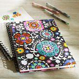 PBteen Floral Medallion Notebook