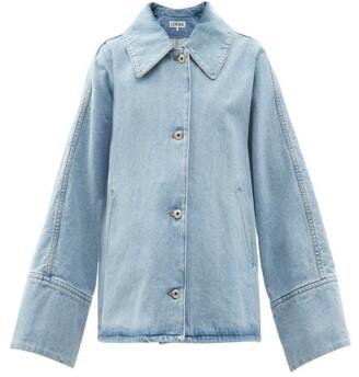 Loewe Oversized Denim Jacket - Denim