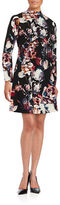 Ivanka Trump Floral Fit and Flare Dress