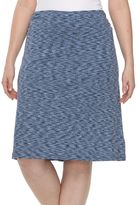 Columbia Plus Size Wildwood Forest Space-Dye Skirt