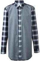 Givenchy contrast check shirt - men - Cotton - 42