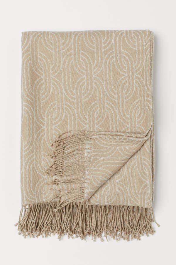 H&M Jacquard-weave Throw