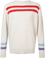 The Elder Statesman cashmere striped jumper - unisex - Cashmere - XS