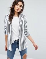 Oasis Longline Stripe Jacket