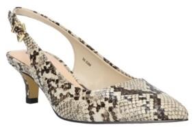Bella Vita Scarlett Slingback Kitten Heel Pumps Women's Shoes