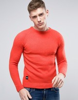 NATIVE YOUTH Brushed Knitted Sweater